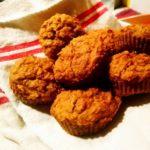 Muffins aux carottes et aux raisins (sans oeufs)