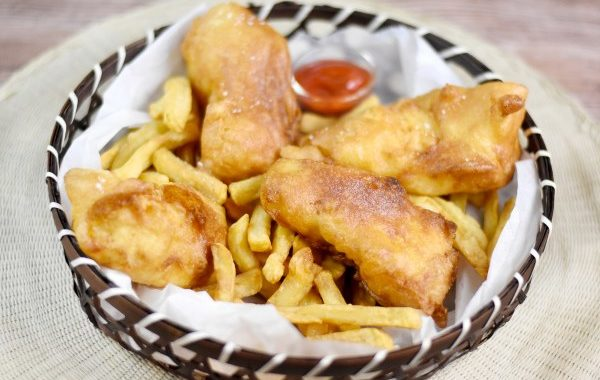 Fish and Chips (la vraie pâte à friture anglaise)