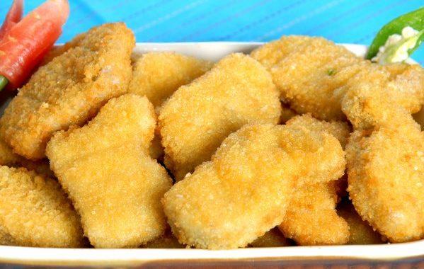 Nuggets de poulet faciles
